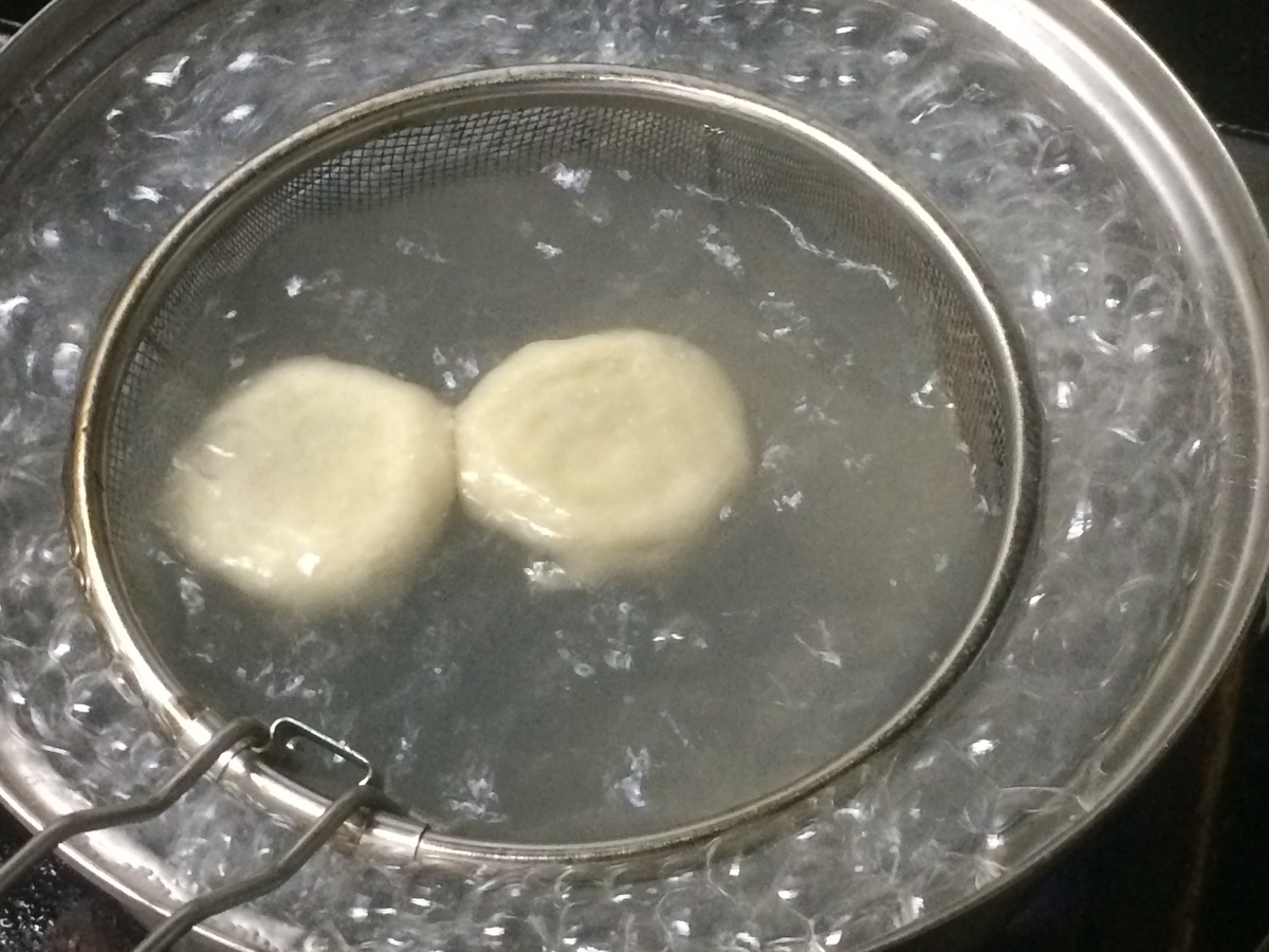 茹で餃子①