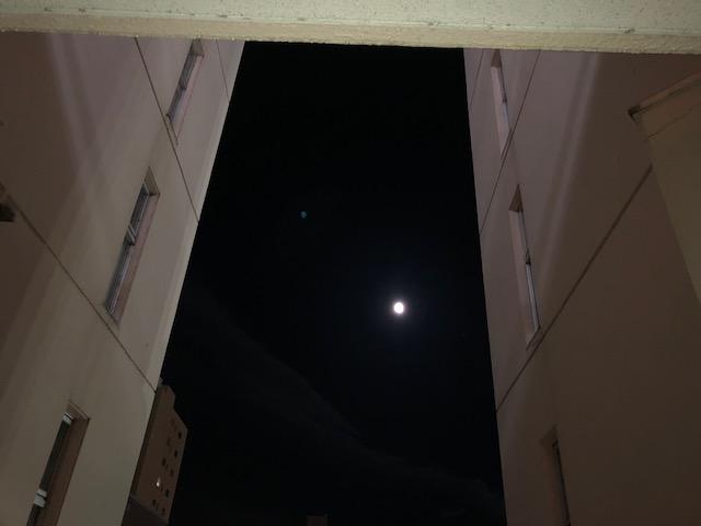 ビルから月①