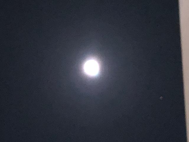 ビルから月②