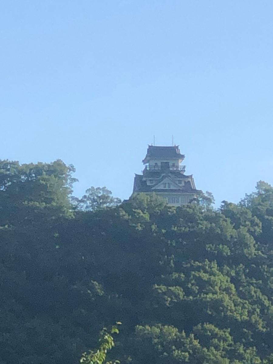 牛伏山のお城